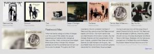 Google Music Timeline Albums