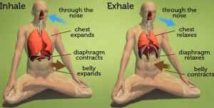 respiració diafragmàtica