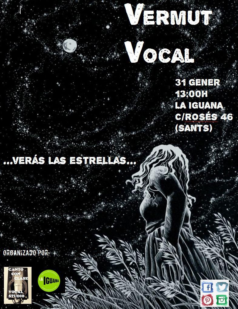 Vermut Vocal Canto Con Clase cartel primera edición