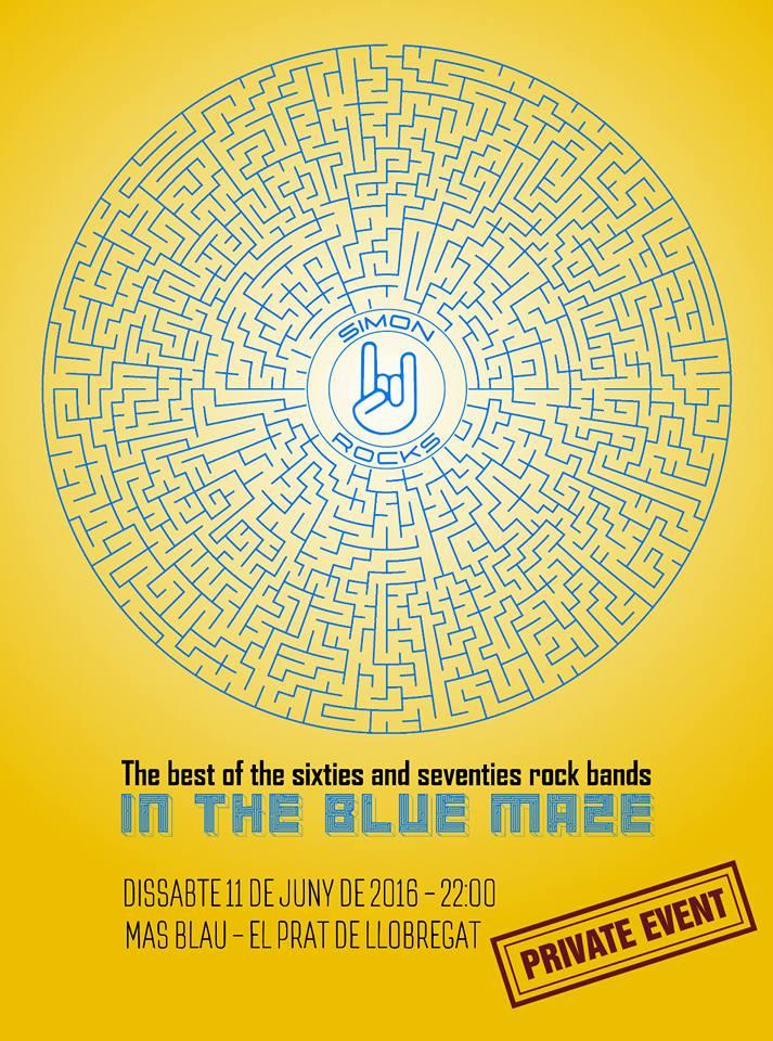 Cartel Simon Rocks in Blue Maze