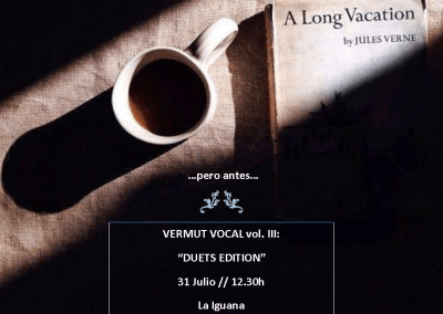Vermut Vocal, Duets Edition, Julio 2016