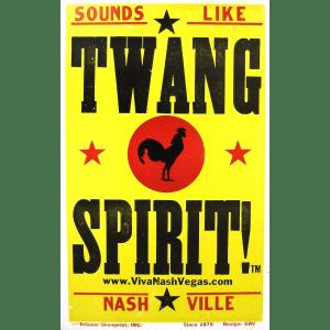 twang spirit poster