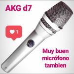 Micrófono dinámico AKG d7