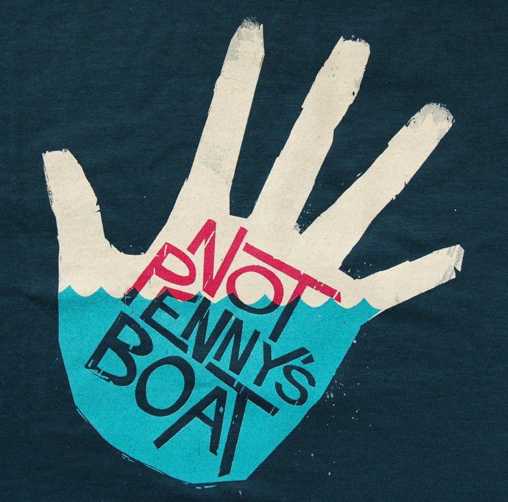 Cartel Not Penny's Boat formato acústico