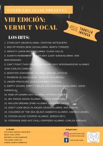 Setlist VIII vermut Vocal