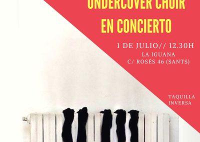 Concierto Undercover Choir, julio 2018