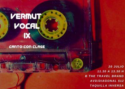 Vermut Vocal edición IX, julio 2019
