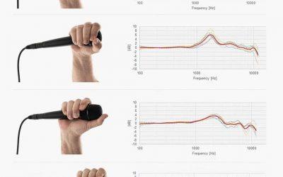 Técnica de micro: ¿qué ocurre cuando tapamos la cápsula de nuestro micrófono?