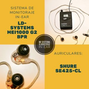 shure y LD systems