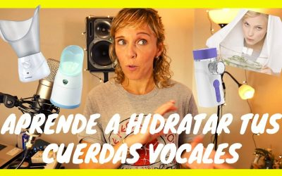 Aprende a hidratar tus cuerdas vocales