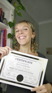 profesora certificada