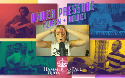 Los Hammer To Fall estrenamos «Under Pressure» (Queen Cover)