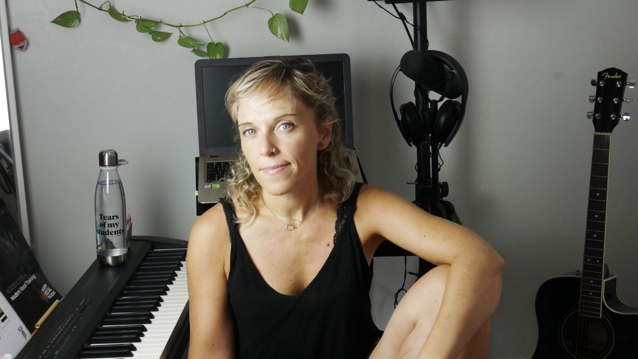 estudio vocal para clases de canto