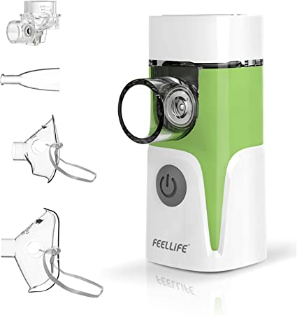 nebulizador feellife para hidratar cuerdas vocales
